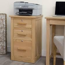 Lockable Bedroom Furniture Arden Solid Oak Furniture Lockable Storage Filing Cabinet