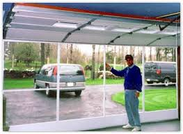 sliding garage doorsGarage Door Screens  Rupp Overhead Doors IncThe Buffalo NY