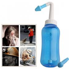 s children 300ml neti pot standard nasal nose wash yoga detox sinus allergies relief rinse blue