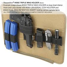 Clip On Magazine Holder Triple Mag Holder Maxpedition MAXPEDITION 73