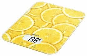 Купить <b>Кухонные весы Beurer KS</b> 19 желтый по низкой цене с ...