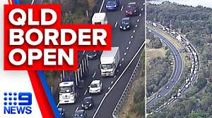 Nsw arrivals into western australia and people travelling from sydney's northern beaches to victoria, queensland, nt and tasmania will have to quarantine for coronavirus nsw: Breaking Qld Border Reopens After Coronavirus Restrictions Lift 9 News Australia Youtube