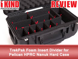 review trekpak foam insert divider for pelican hprc nanuk hard case 1kind photography
