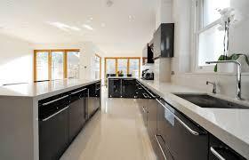 black and white kitchen ideas. Black-kitchen-ideas-freshome16 Black And White Kitchen Ideas T