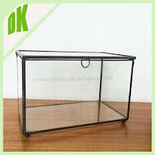 Decorative Display Boxes Clear Acrylic Rectangle Storage Box With Lid Wholesale Storage 80
