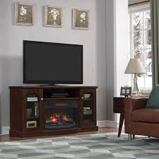 electric fireplace with mantel genial chimneyfree media electric fireplace for tvs up to 65 multiple