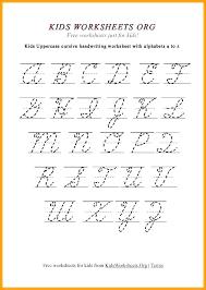 27 Veracious Victorian Modern Cursive Alphabet