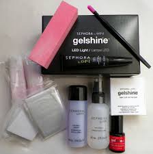 Gelshine Led Light Sephora By Opi Gelshine System Review Peace Love And