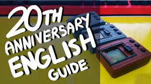 20th Anniversary Digimon Vpet English Guide Gameplay