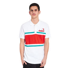 diadora 80s polo shirt