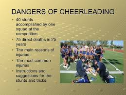 cheerleading is it a sport  8 dangers of cheerleading