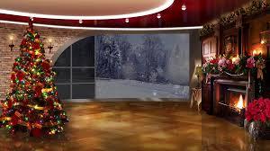 photo studio christmas background.  Studio Christmas Tv Studio Set 15 Virtual Green Screen Background Loop Motion   Videoblocks To Photo H