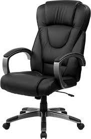 black desk chair. Black Leather Office Chair Desk I