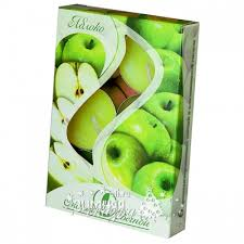 """Набор <b>ароматических свечей</b> """"Яблоко"""", 4 см, 6 шт, <b>Омский Свечной</b>"""