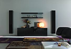 Modern Living Room Tv Wall Units 33 In Black Color 880×605 Apartment Living  Room