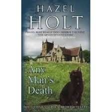 PETRONA: Book Review: Any Man's Death by Hazel Holt