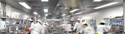 Industry Kitchen Home Design Ideas - Commercial kitchen