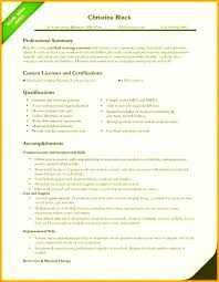Certified Nursing Assistant Resume Examples Fascinating Nursing Resume Examples 48 Nursing Resumes Certified Nursing