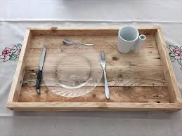 pallet serving trays