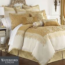snazzy white and gold bedding applied to your residence decor sutton square ivory and gold