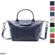 longchamp longchamp handbag 2way le pliage le プリアージュキュイール
