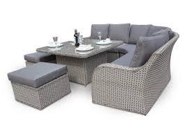 outdoor rattan dining sets. rattan corner sofa dining nottingham high back outdoor sets