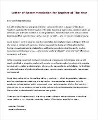Recommendation Letter For Teaching Position Sample Recommendation Letter For A Teacher Reference College