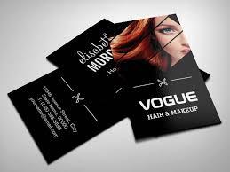 Hair Stylist Business Card Templates Hairdresser Business Card