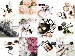 barely there beauty insram photography flatlays makeup