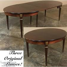 oval dining table with leaf crown mark solid pedestal inside remodel vintage round dining table with