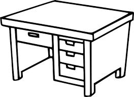 Coloriage Bureau Colier Imprimer Dessin De Bureau L