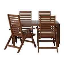 outdoor ikea furniture. IKEA ÄPPLARÖ Table+4 Reclining Chairs, Outdoor Ikea Furniture E