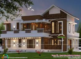 4 Storey House Design With Rooftop 2018 Kerala Home Design And Floor Plans