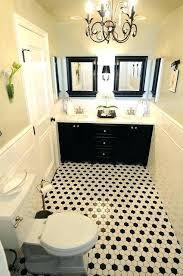 black and white bathroom tiles. Bathroom Black And White Tile Fancy Ideas Tiles