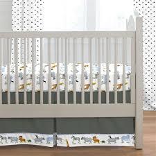 animal print crib skirts dust ruffles
