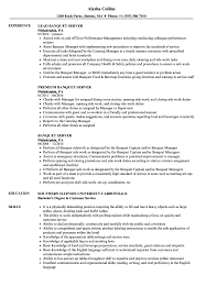 Server Experience Resume Examples Banquet Server Resume Samples Velvet Jobs
