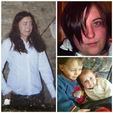 Geary's victims Sarah Hines, (l) Reece and Amy Hines, (bottom right) and Alicia Brough (top right). The ex-cop immediately contacted gardai at Newcastle ... - hines