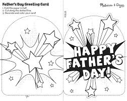 printable coloring fathers day cards for kids to color free card craft colouring