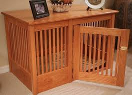 dog crates furniture style. oak and maple dog crates furniture style