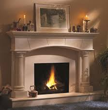 South Coast Style Custom Cast Stone Fireplace Surrounds And Cast Fireplaces