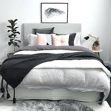 light pink and grey bedding full size of ideas with grey bed home decor bedroom dream