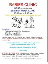 rabies vaccination certificate rabies clinic 500 per catdog saturday march 4 2017 1000 am 200 pm