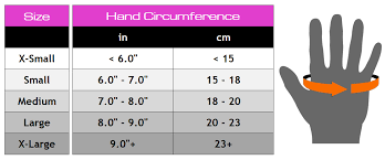 22 Prototypal Hand Gloves For Gym Size Chart
