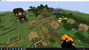 Minecraft Village Seeds Seed 454545 Has The New Village And A Pillager Outpost