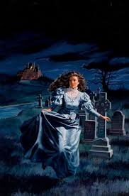 vinegeekculture artist uldis kalvan s gothic romance covers featuring women running away from things
