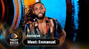 Meet Emmanuel – BBNaija