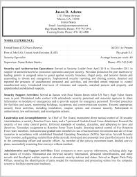 Resume Federal Government Format Free Download Federal Resume