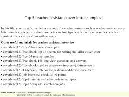French Language Teacher Cover Letter Sample Teaching Assistant Cover Letter Sample No Experience Teacher Resume
