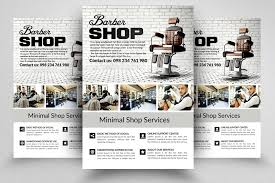barber flyer 10 barber shop flyer templates bundle by designhub thehungryjpeg com