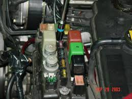 how to convert lexus hydraulic fan to electrical fan lexus ls the fuse box opened and two 10mm screws holds it down